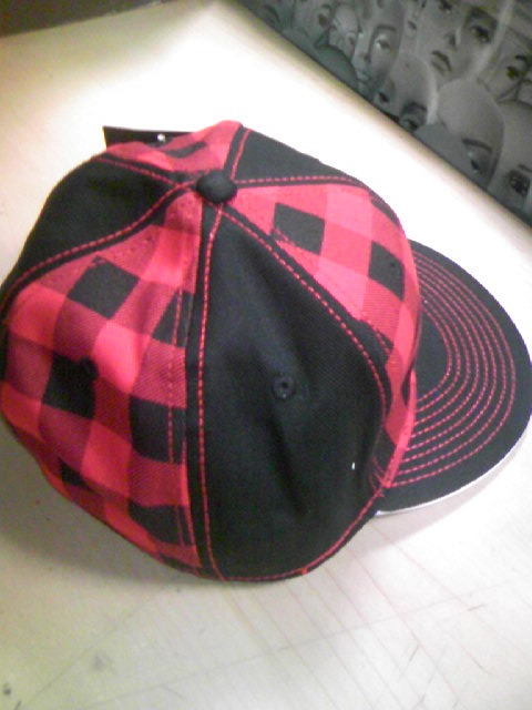 FAB Checked Flex Cap 2-2z