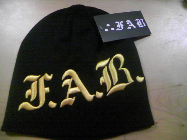 FAB Corpo 3Dビーニー 3-2