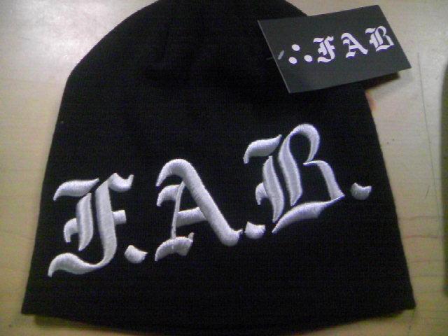 FAB Corpo 3Dビーニー 3-3
