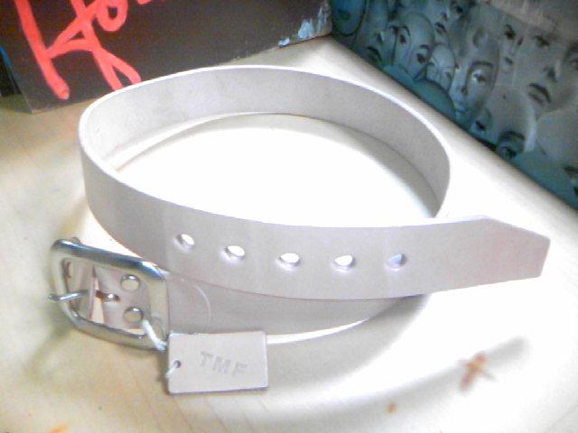 TMF 5mmアツ プレーン レザー ベルト 3-2