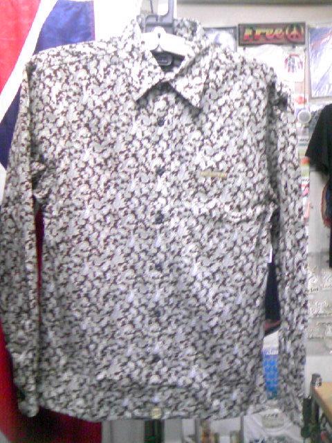 Balance Cord Paisleyシャツ 6-1z