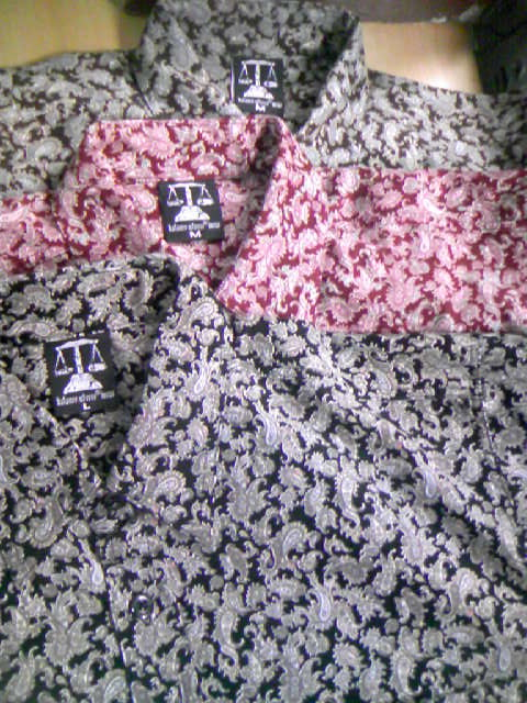 Balance Cord Paisleyシャツ 6-4z
