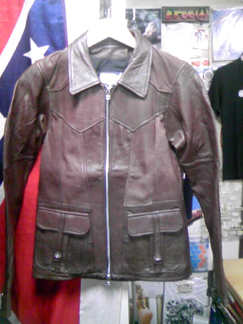 East West Leather Jkt 2-1z