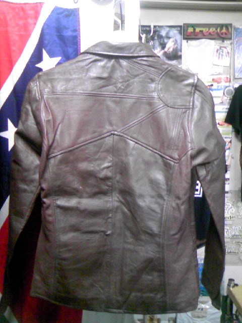 East West Leather Jkt 2-2z