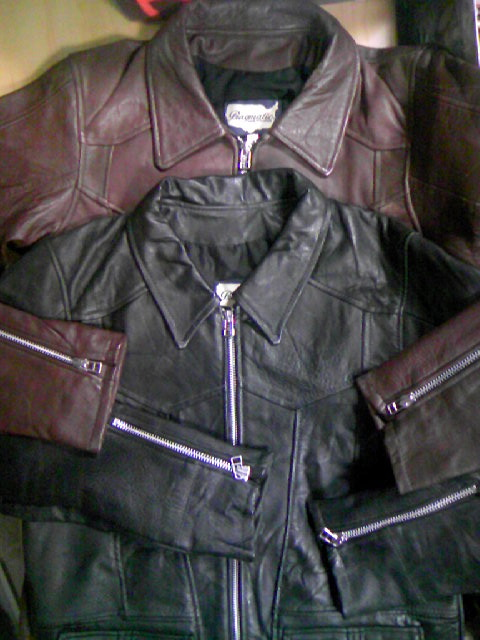 East West Leather Jkt 2-5z