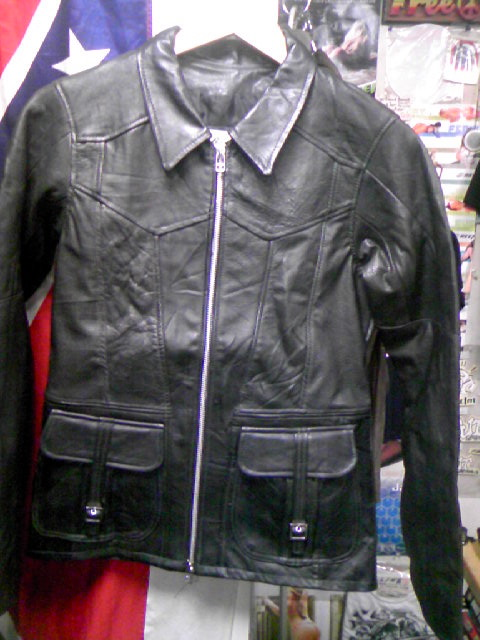 East West Leather Jkt 2-6z