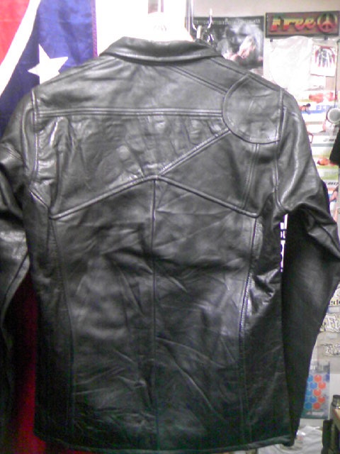 East West Leather Jkt 2-7z