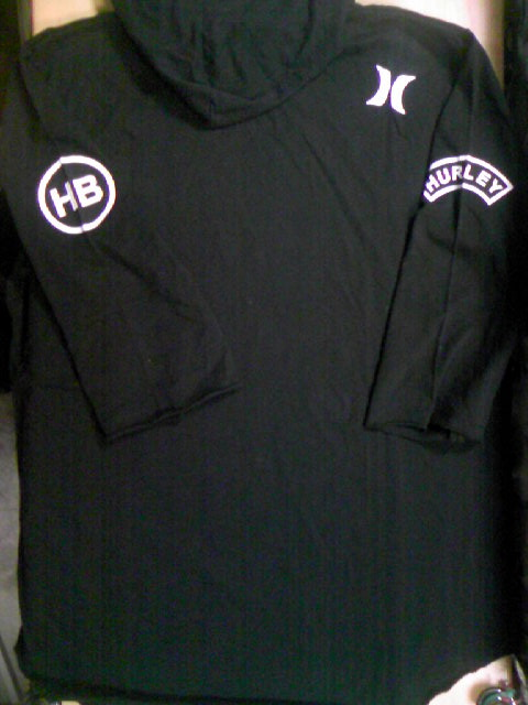 Hurley HB Rock3/4フードT 2-3z