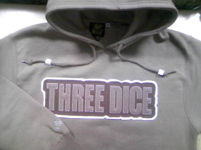 Three Dice PK02プルオーバーパーカー 5-3