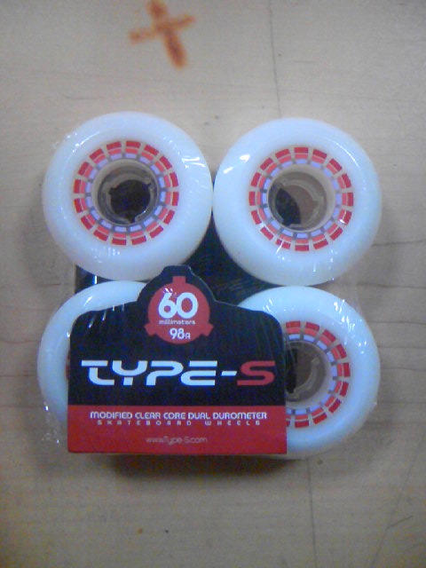 Type-S Wheel 60mm98A 2-1z