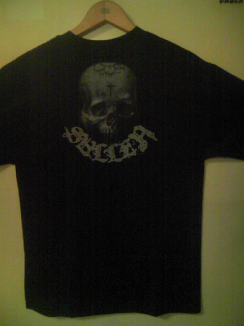 Sullen Stained Skull T 4-2z