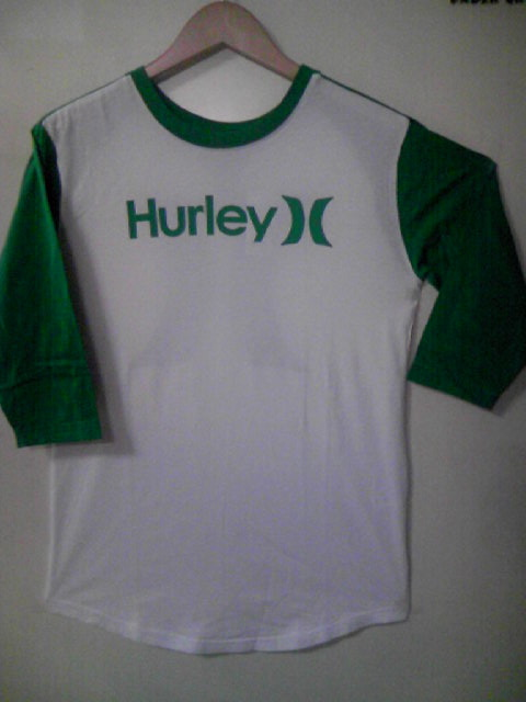 Hurley Watt ラグランセットイン BB-T 5-1