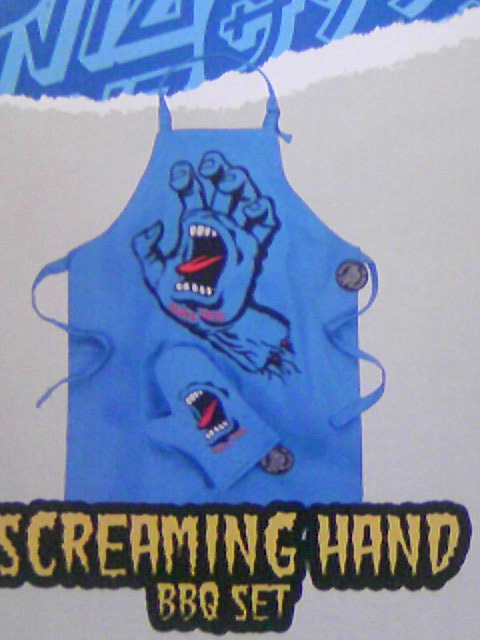 Santa Cruz Screaming Hand BBQ Set 12-1
