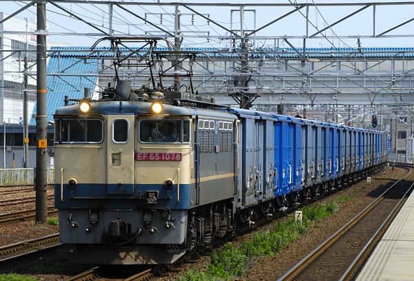 670レ  EF65-1078号機