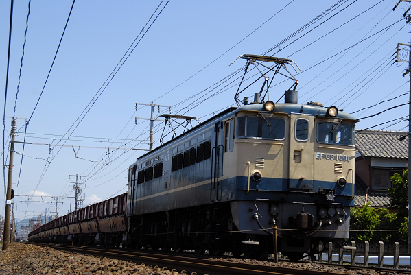 5780レ  EF65-1001号機