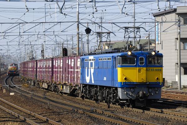 3460レ  EF65-1059号機