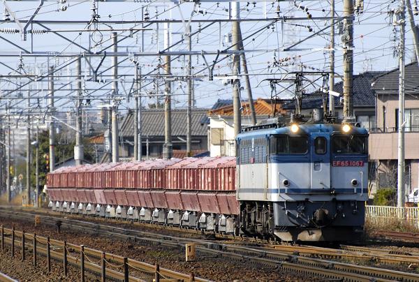臨8784レ  EF65-1067号機