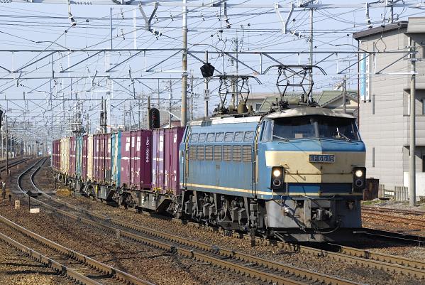 5088レ  EF66-19号機