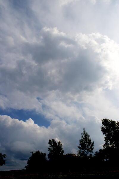 積乱雲通過