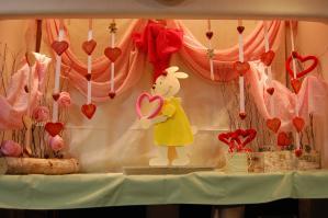 2012.2.14バレンタインディスプレー