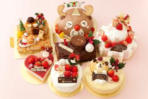 2011クリスマスケーキ集合写真