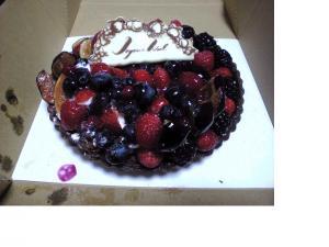 キルフェボンのケーキ♪