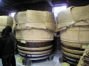 お酢が発酵中。。。