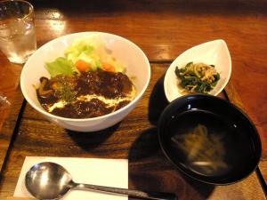 豆腐ハンバーグ・ロコモコランチ☆