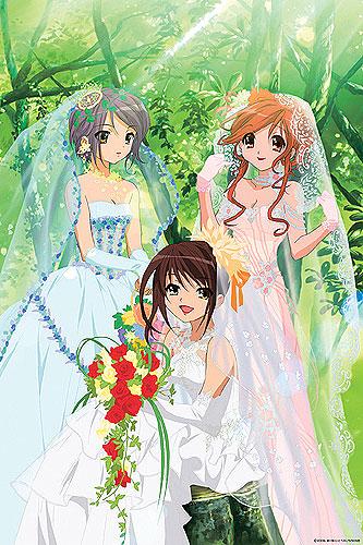 【かわいい】ウエディングドレス姿のアニメキャラ