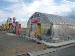 岐志漁港のカキ小屋