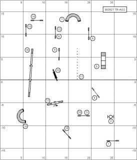 アジリティー2度レベルの練習コース図