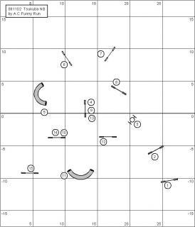 11月ノービスコース図