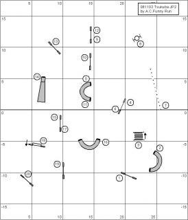 11月ジャンピング2度コース図