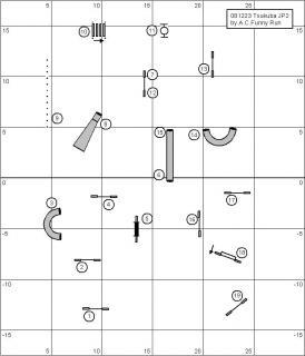 ジャンピング2度コース図