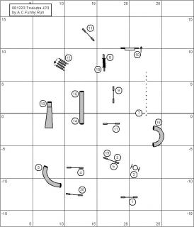 ジャンピング3度コース図