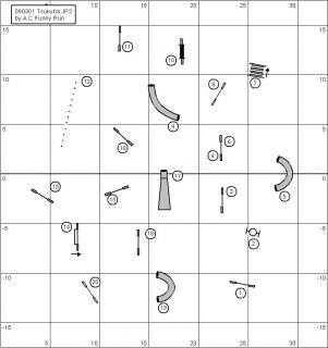 3月1日ジャンピング2度コース図