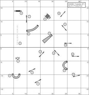 3月1日ジャンピング1度コース図