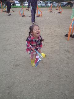 N田さんのりさちゃんも最後まで頑張っていました。何年後かにはジュニアハンドラーか(笑)