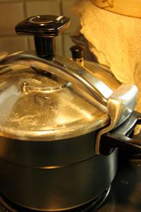 圧力鍋赤飯