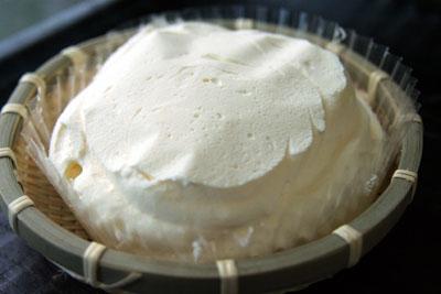 カゴ盛りレアチーズ