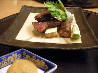 定山渓夕食8