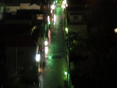 20081026 裏通り(夜景撮影)