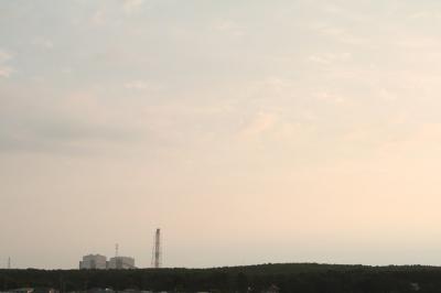 0908 J屋上からの夕景