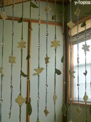 そよ風に揺れる森のカーテン2