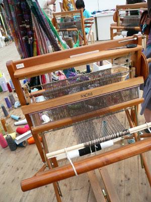 Y150ヒルサイド さをり織り体験1
