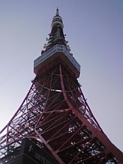 東京塔・真下