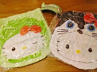 関東キティ巾着