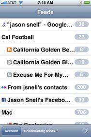 iPhone 3G スクリーンショット