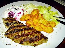 ギリシャ料理「ビフテキ」