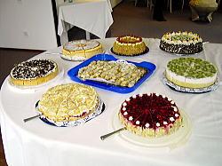 ケーキたち~~♪